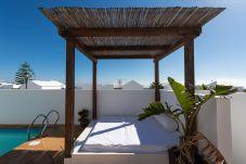 Villa en Tías - NUEVO Villa Princesa Fayna con piscina privada y BBQ