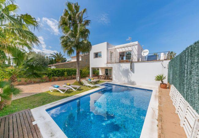 Villa/Dettached house in Colonia de Sant Pere - Villa for 8 people in Colonia de Sant Pere